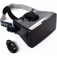AC261. 3D VR Box Virtual Reality Glasses W/ Bluetooth Game Controller For I Phone