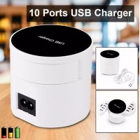 AC524.Charger USB 10 Ports Rapid Wired Charger Dock