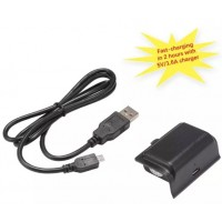 AC715. Baterai 1500mAh Rechargeable Battery Pack USB Power Cable For XBOX ONE Controller