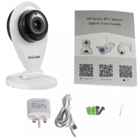 AH080. Sricam SP009 Wireless Baby Monitor HD 720P WiFi P2P Indoor Security IP Camera