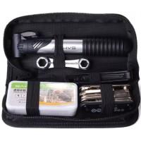 CS066.Peralatan / Tool Kit Sepeda (Pompa, Obeng, Tambal Ban, Kunci2 Dll )