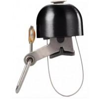 CS193. Klakson Sepeda Besi, Bicycle Cycling Bell Metal Horn Ring Safety Sound Alarm Handlebar (Black)