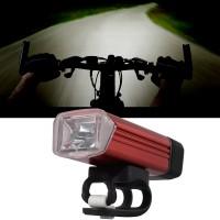 CS255. Lampu Sepeda Machfally 180LM CREE Front Head LED Bicycle Lamp Bike Headlamp Headlight - Red