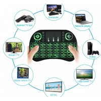 AC682. Keyboard Air Mouse I8 Mini Keypad Wireless Touchpad Changeable Backlight