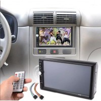 "MA727. Head Unit 7"" HD LCD Dual DIN Car Stereo Video In Dash MP4 USB/TF Radio"