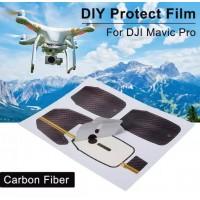 RC483. Waterproof Sticker Skin Decal DIY Cover Carbon Fiber For DJI Mavic Pro