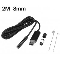 Endoscope Inspection Camera Borescope Tube Probe IP67 2in1 OTG Micro USB