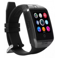 AC416. Q18 Bluetooth Smart Watch Phone With Pedometer - Anti Lost - Camera - SIM TF Card